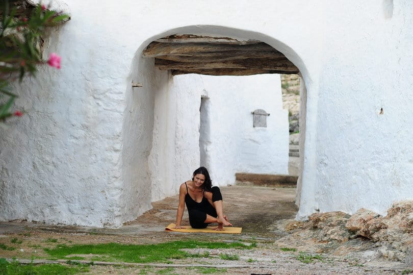Simplicity Opale in a typical finca of Ibiza