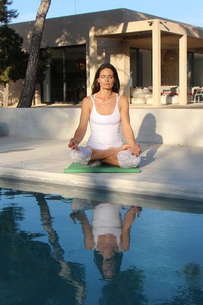 Opale Meditation in a private villa in Ibiza