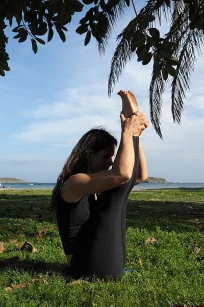 Opale in ubhaya padangustasans Ashtanga Yoga Ibiza