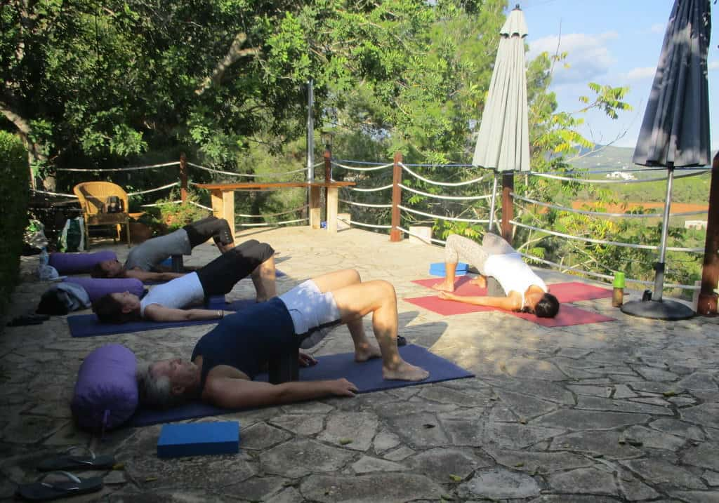 Private Yoga lesson at your place with your friends in Ibiza