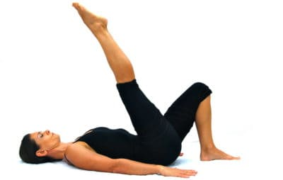 1 leg up down A Opale Pilates Ibiza