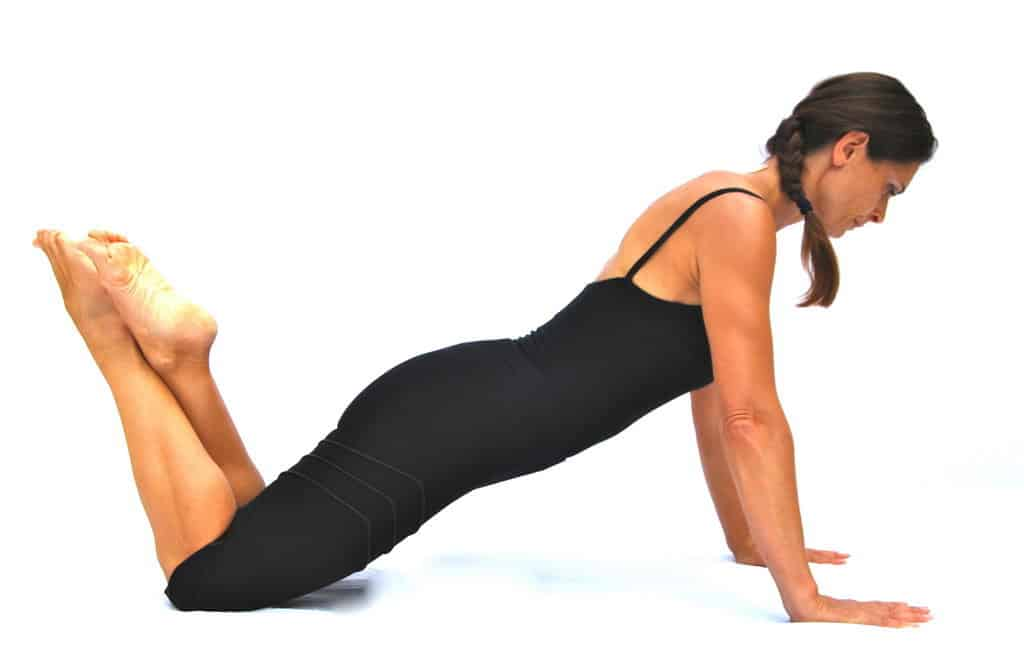 Push ups preparation Opale Pilates Ibiza