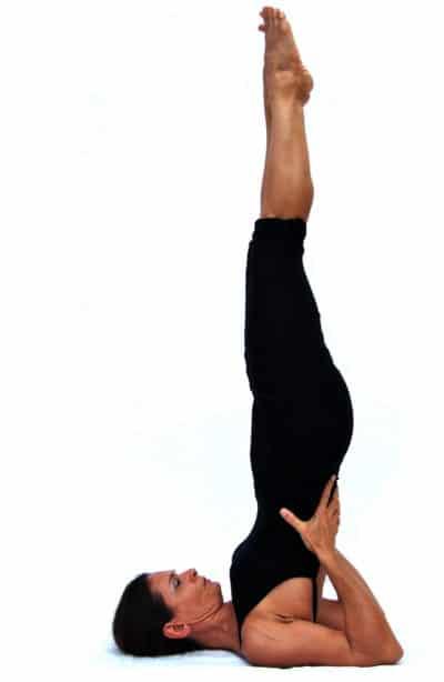 Sarvangasana I shoulderstand Opale Yoga Ibiza