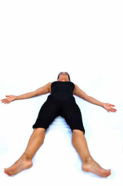 Savasana corpse pose Opale Yoga Ibiza