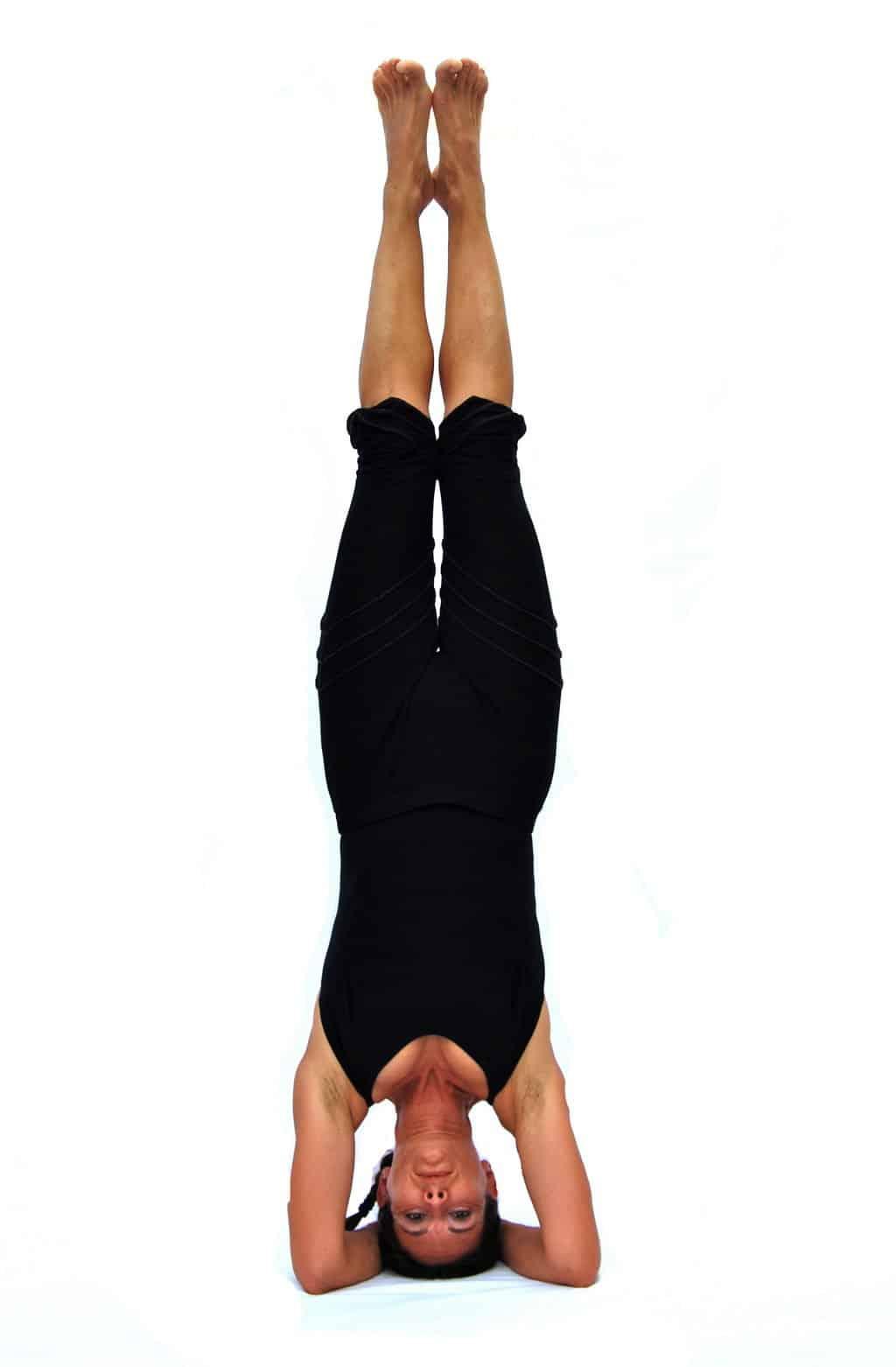 Sirsasana I headstand Opale Yoga Ibiza
