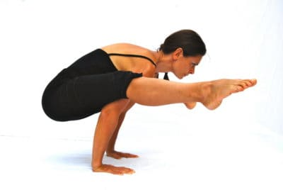 Tittibhasana firefly pose arm balance Opale Yoga Ibiza
