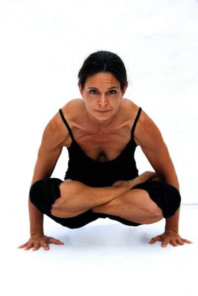 Tolasana scale pose arm balance Opale Yoga Ibiza